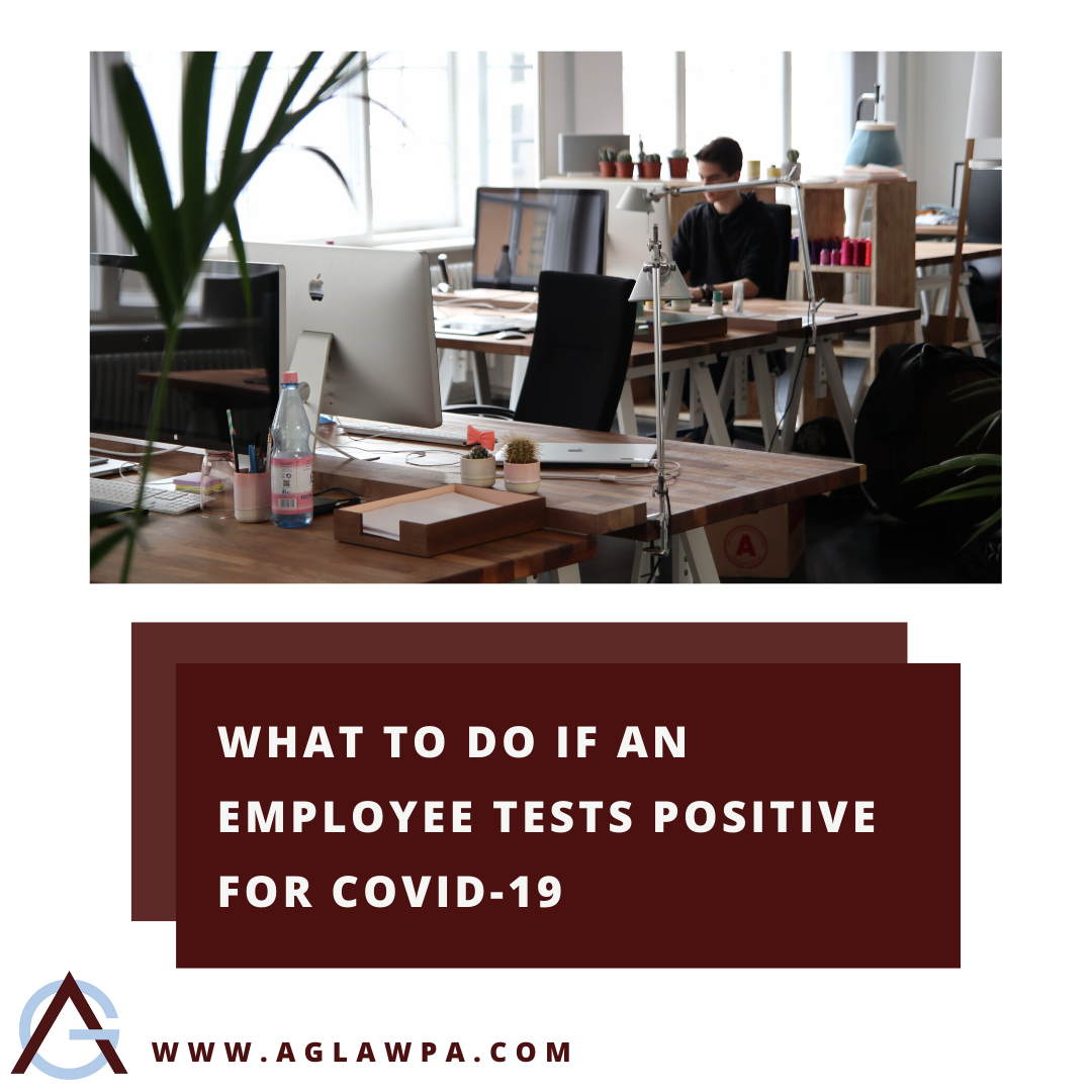 What To Do If An Employee Tests Positive for COVID-19